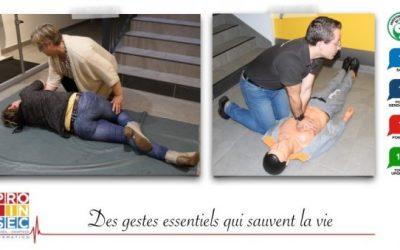 Connaissez-vous les gestes qui peuvent sauver la vie d'une personne ?