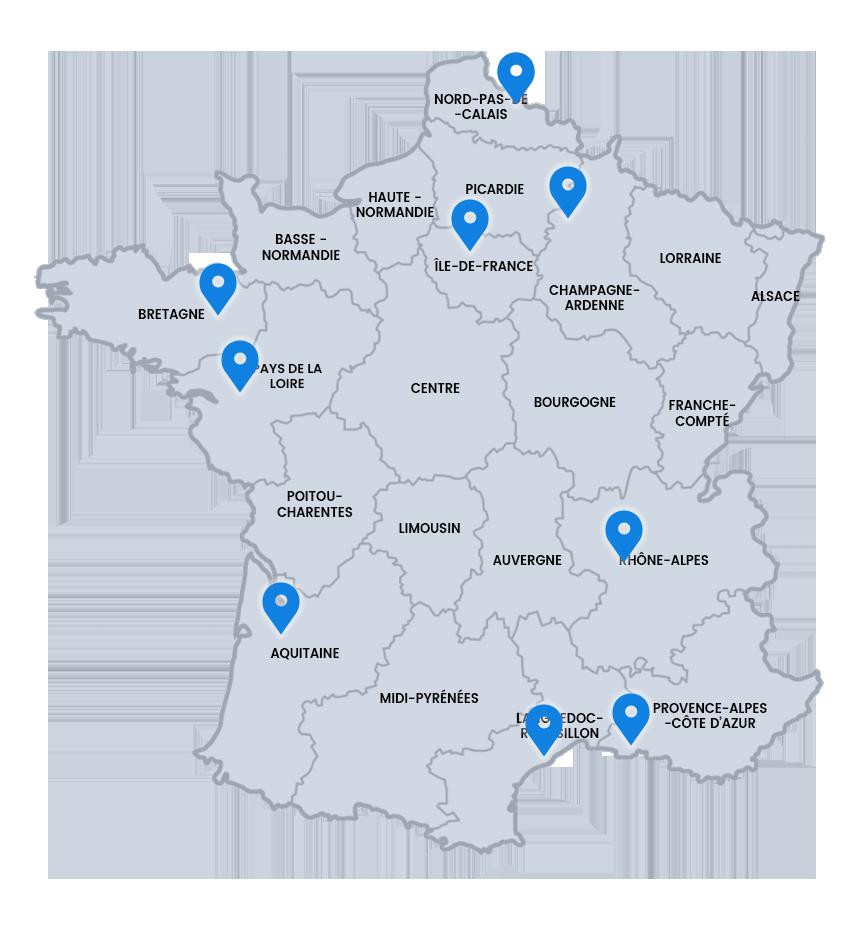 carte contact France